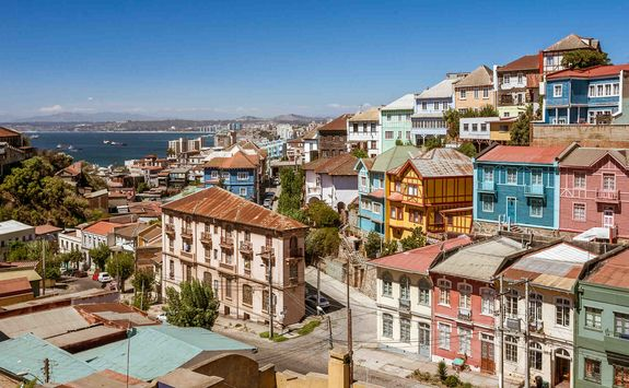 Colourful Valparaiso