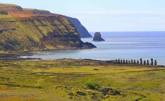 Easter Island view