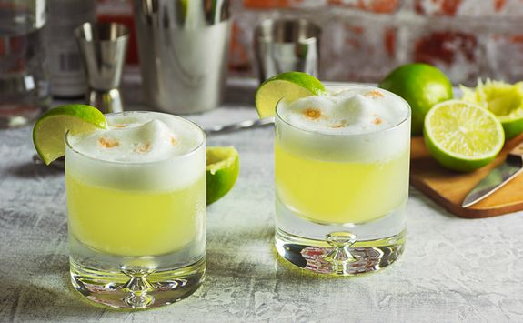 Pisco Sour Cocktails