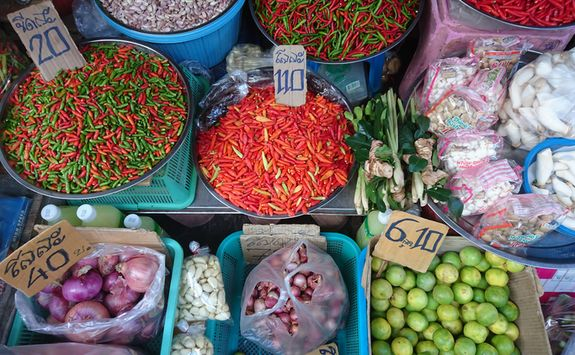 Thai spices and chilli