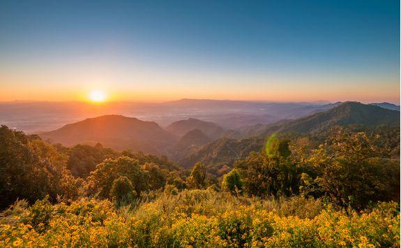 Chiang Rai sunrise