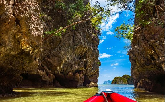 Kayaking at Phang Nga Bay