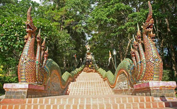 Stairway to Doi Suthep