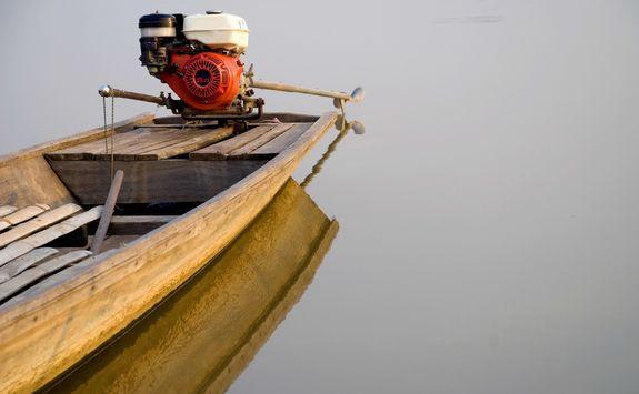 Rudder of a boat