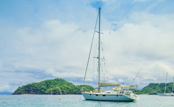 sailing in the Gulf of Papagayo