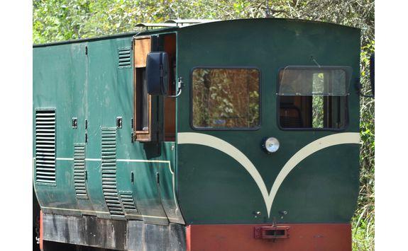 train at Iguazu