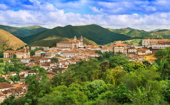 View of Ouro Preto