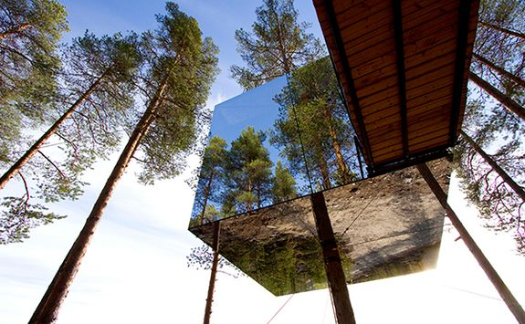 treehotel northern Sweden