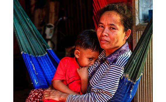 cambodian locals