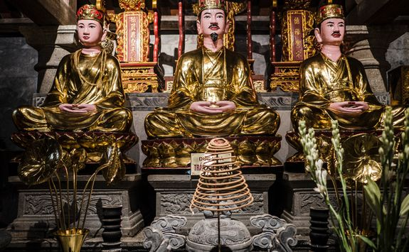 Temple in Ninh Binh