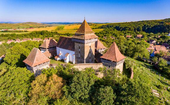 viccri medieval village