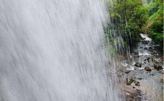 Close Up of a Waterfall