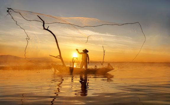 Traditional fishermen