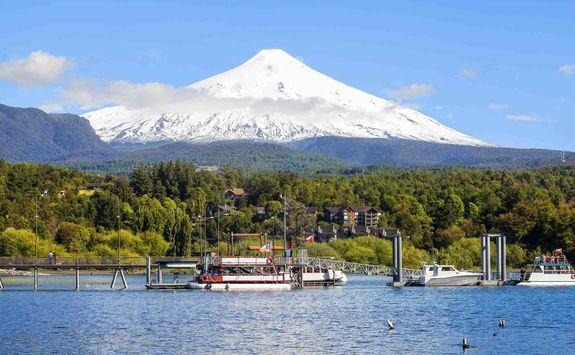 Pucon Villarica volcano