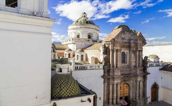 La Companie church in Quito