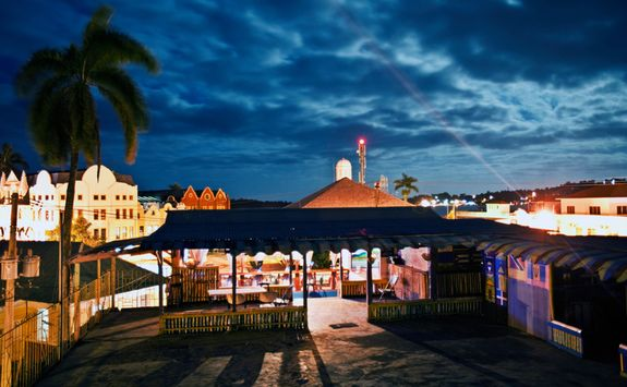 Night in Jamaican Town