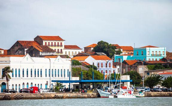 Harbor in Sao Luiz