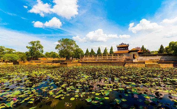 Pond in Hue citadel