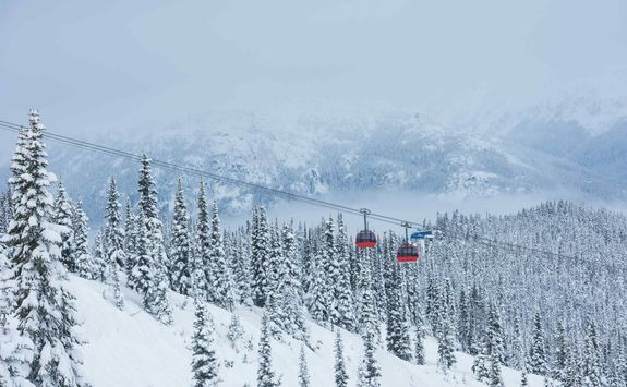 Whistler cable car