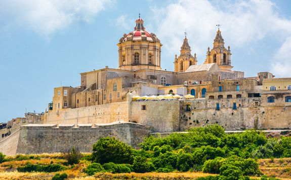 Walled city cathedral, Mdina