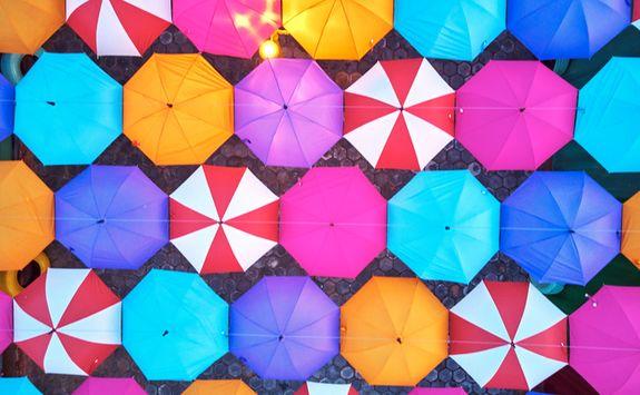 siem reap market umbrellas