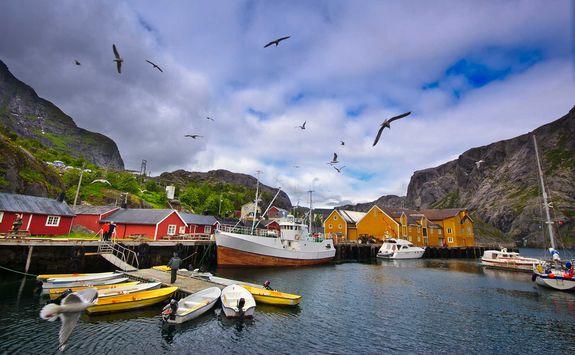 Fishing village of Nusfjord