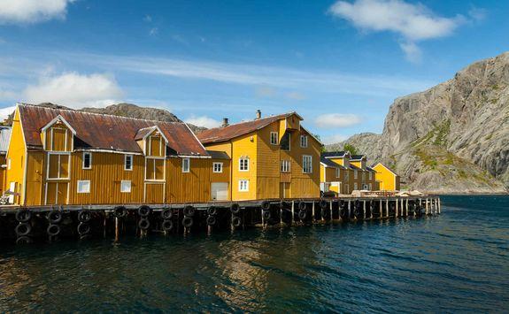 Nusfjord village