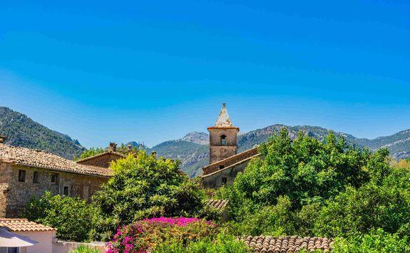 Mountain village in Mallorca