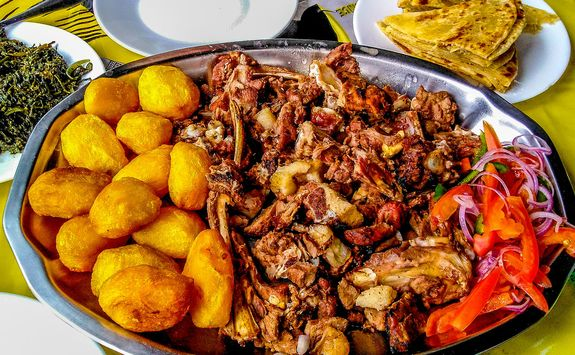 Kenyan meal