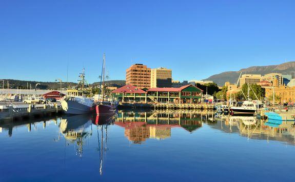 Hobart Harbour, Australia