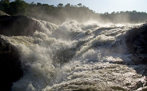Close up of Murchison Falls
