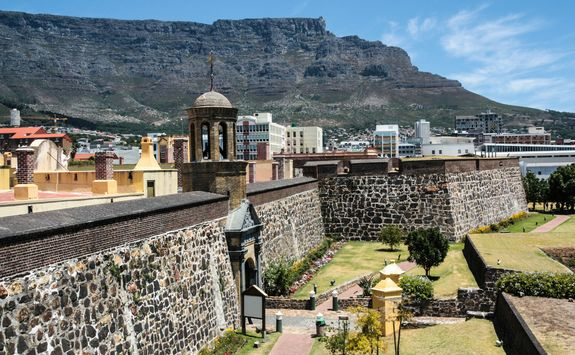 the castle in cape town