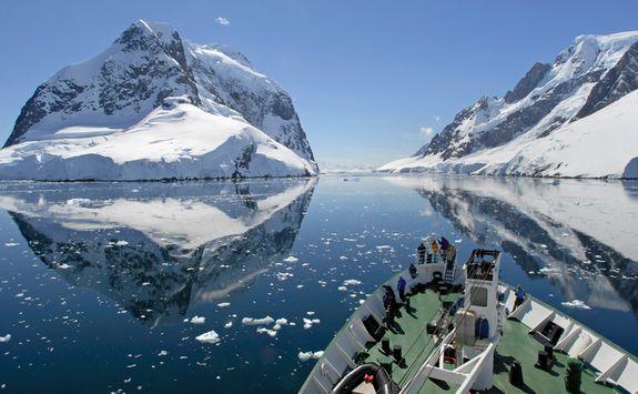 Cruise through passage