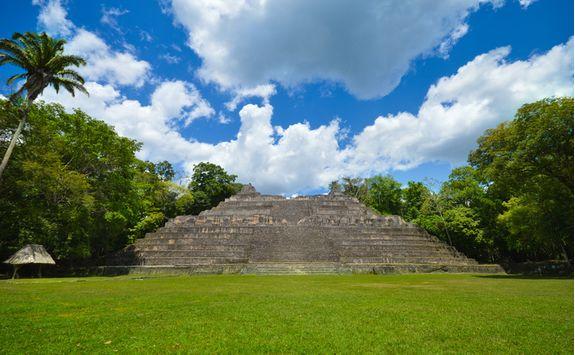 Ancient Mayan Temple, Belize