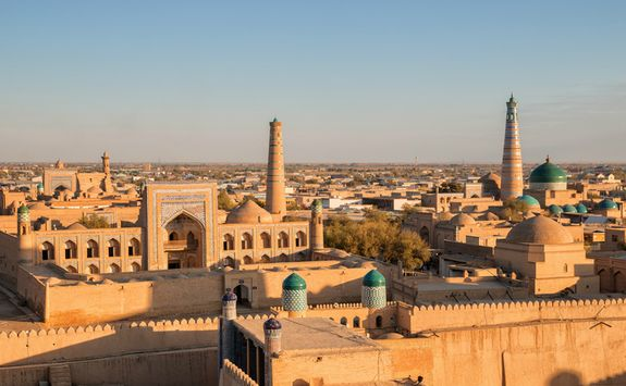 Khiva town view