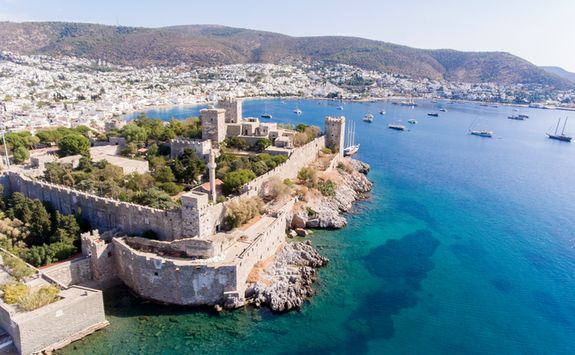 Aerial View of Bodrum