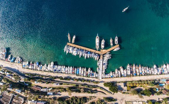 Marina in Bodrum