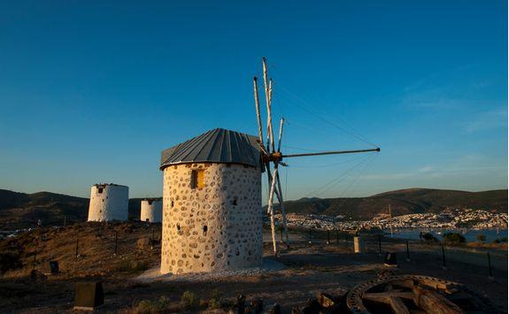 Field of Old Windmills
