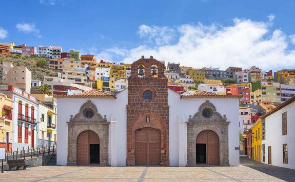 Old church in San Sebastian