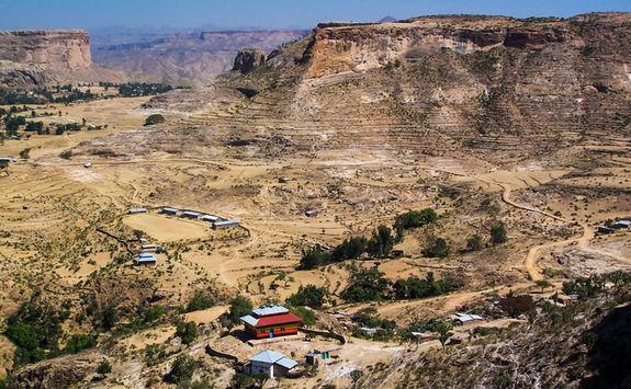 Debre demo view, Tigray