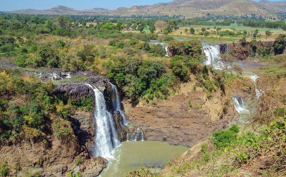 Amhara view, Blue Nile Falls
