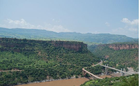 Ethiopian landscape, Amhara