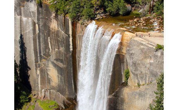 Vernal Falls aerial