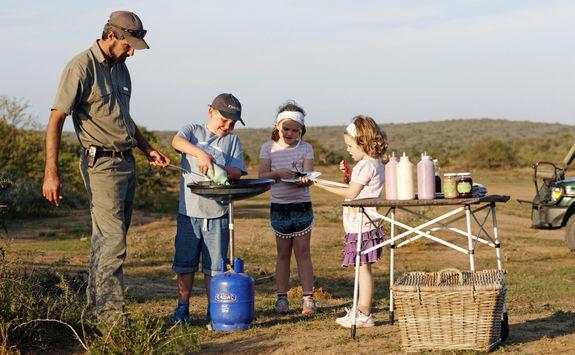 Children's cooking