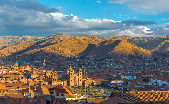 Cusco cityscape
