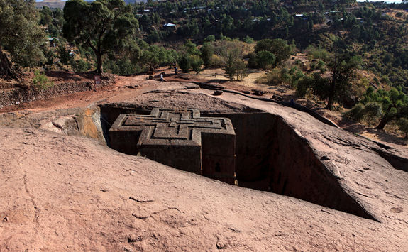 lalibela famous ethiopian church