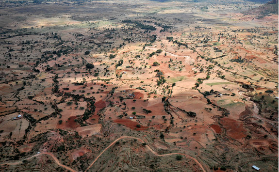 gheralta landscape above
