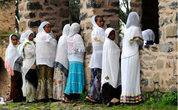 orthodox faithful gondar