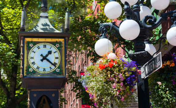 Clock in Vancouver