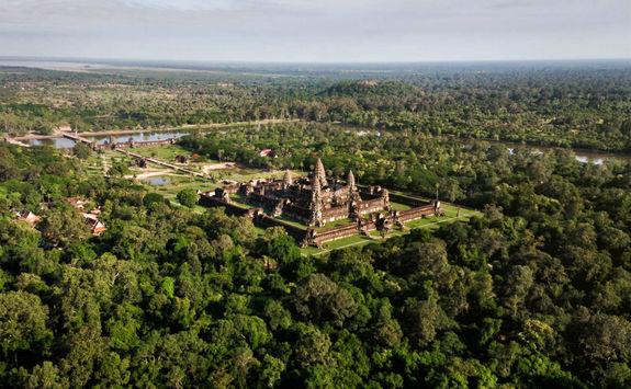 Angkor Wat Temple Siem Reap, Cambodia